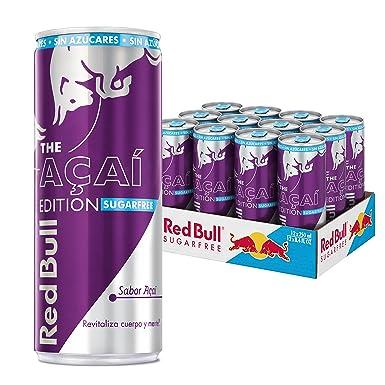 4d66c0aa500e4 Red Bull Açai Edition Bebida Energética - Paquete de 12 x 250 ml - Total