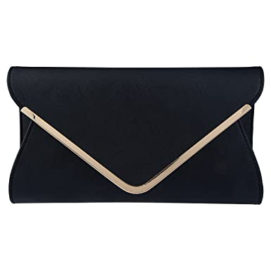 Image Unavailable. Image not available for. Color  Bagood Leather Envelope  Clutches Bag for Women Evening Handbags ... bc51963cff092