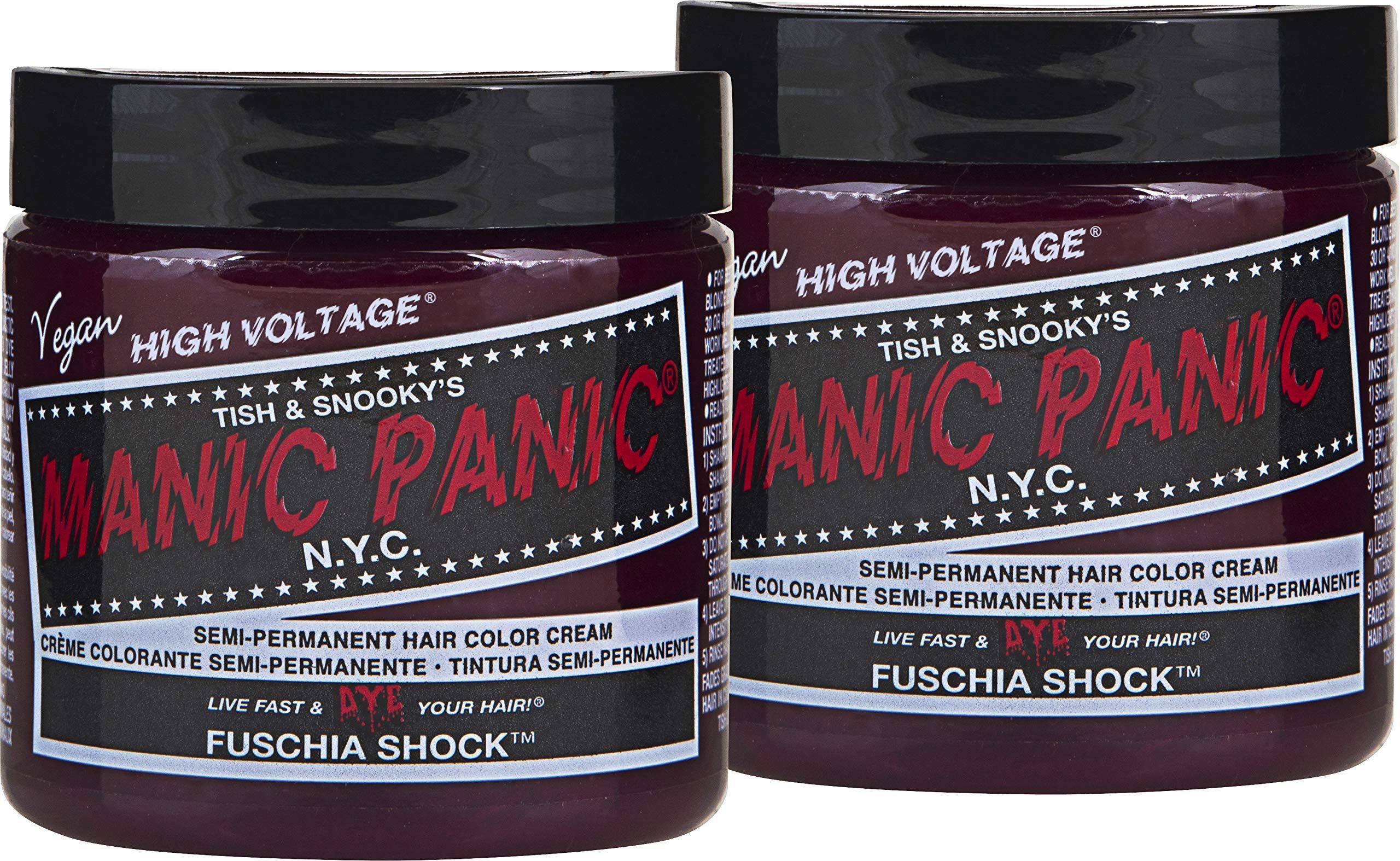 Manic Panic Fuschia Shock Hair Dye 2 Pack