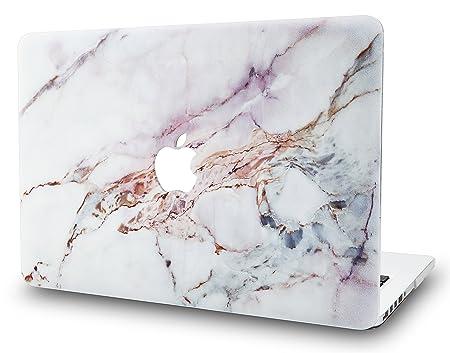KECC MacBook Pro Retina 13 Zoll Hülle Schutzhülle Case Cover MacBook Pro 13.3 Retina Hülle {A1502/A1425} (Marmor Weiß 4)