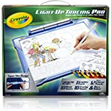 Crayola Light-up Tracing Pad - Blue, Coloring Board for Kids, Gift, Easter Toy, Ages 6, 7, 8, 9, 10