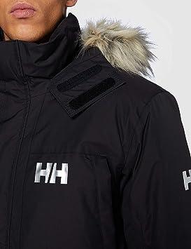 XL Helly Hansen Montes Bomber Down Jacket Chaqueta Hombre Negro