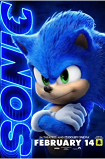Amazon Com Sonic The Hedgehog Movie Poster 2 Sided Original Version B 27x40 Jim Carrey Posters Prints