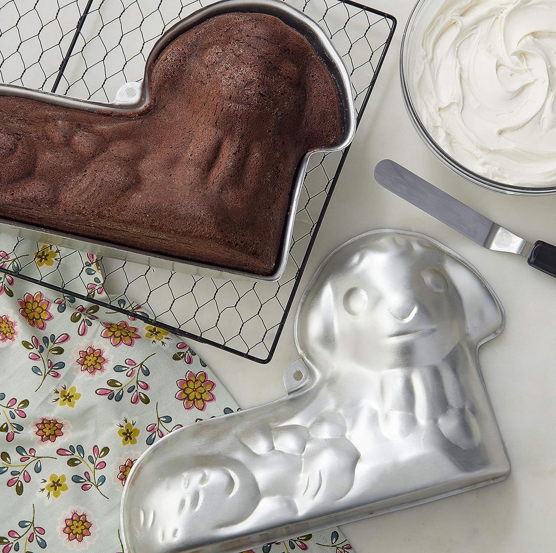 2-Piece Wilton 2105-2010 3D Easter Lamb Cake Pan Set