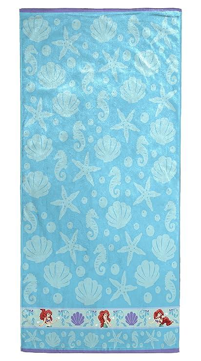 Disney Little Mermaid Ariel Cotton Bath Beach Pool Towel