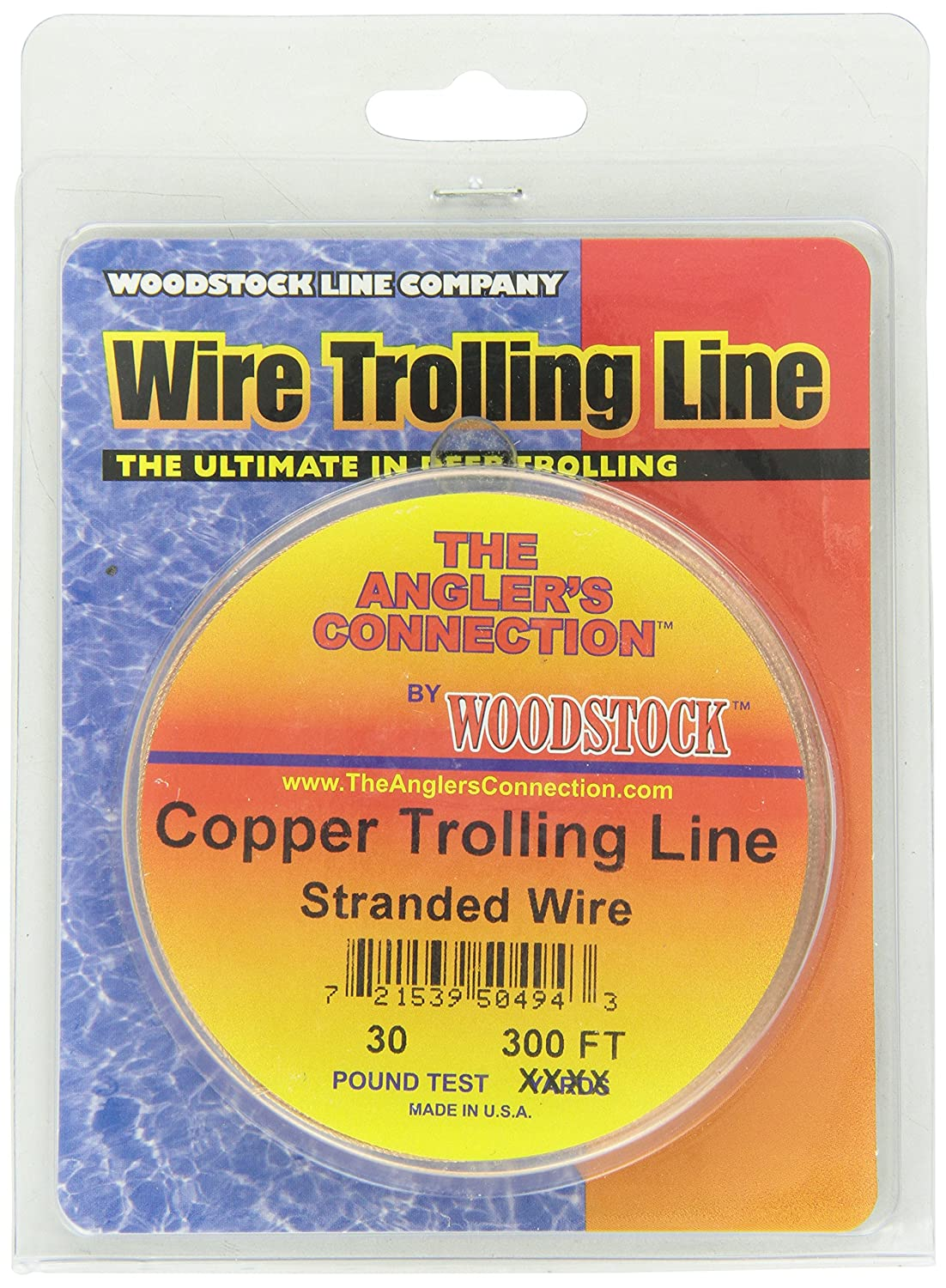 Woodstock Fishing Line Copper Trolling Wire WOOGO