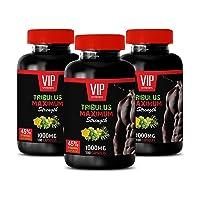 Muscle Growth Pills - TRIBULUS TERRESTRIS Maximum Strength - 45% STEROIDAL SAPONINS...