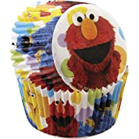 Wilton 415-3470 50 Count Sesame Street Cupcake Liners, Multicolor