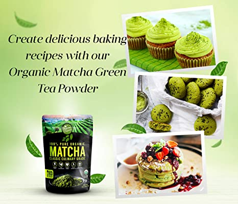 Polvo de té matcha: Amazon.com: Grocery & Gourmet Food