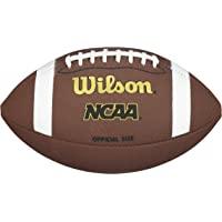 WILSON NCAA Balón para fútbol Americano de Material Compuesto