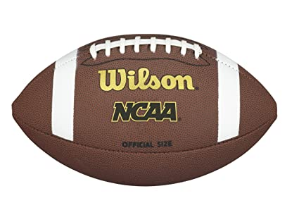 180606c7e6b Amazon.com   Wilson NCAA Composite Football   Sports   Outdoors