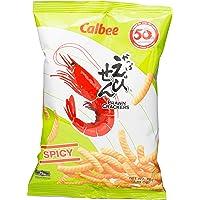 Calbee Prawn Crackers, Spicy, 90g