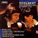 Schubert: Works for Piano 4 Hands Vol. III