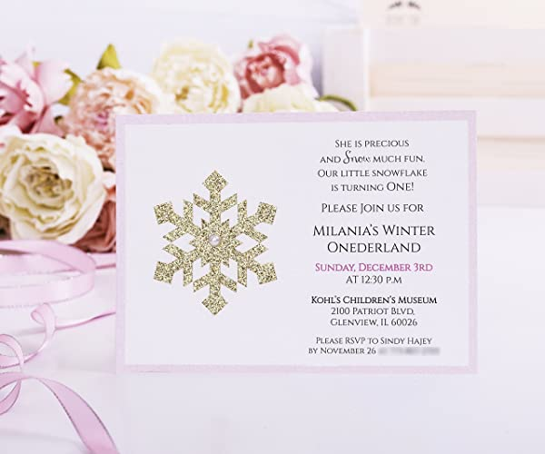 winter onederland invitation first birthday onederland birthday wonderland birthday card 1st birthday - Winter Onederland Party Invitations