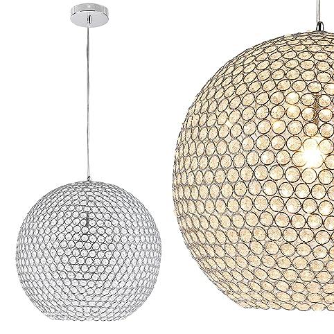kugel lster deckenleuchte deckenlampe crystal von luxpro - Beleuchtung Wohnzimmer Lux
