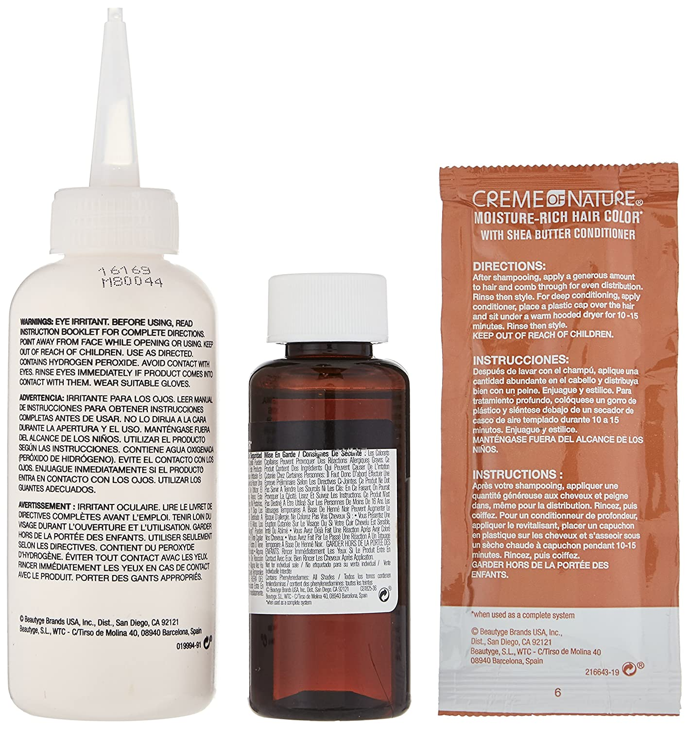 Amazon.com : Creme of Nature Liquid Hair Color, Red Hot Burgundy : Beauty