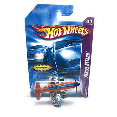 Hot Wheels Aerial Attack #1 Mad Propz Collectible Collector Car #2007-73 2007 1:64 Scale: Toys & Games
