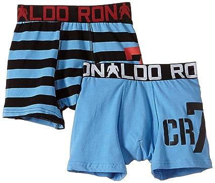 06188f9ff127 CR7 Cristiano Ronaldo Boys 'Boxer Shorts Multi-Coloured blue Size:7 ...