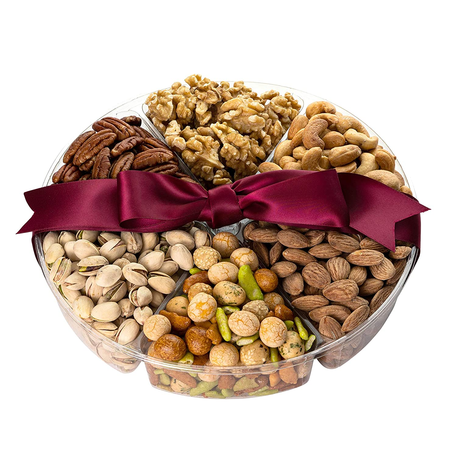 Simple Nuts Holiday Gift Baskets | Assorted Nuts Care Package, Ultra Fresh Nuts, Never Stale | Gourmet Food Snack Gift for Holidays, Christmas, Hanukkah, New Year's & More | Fast, Secure Shipping