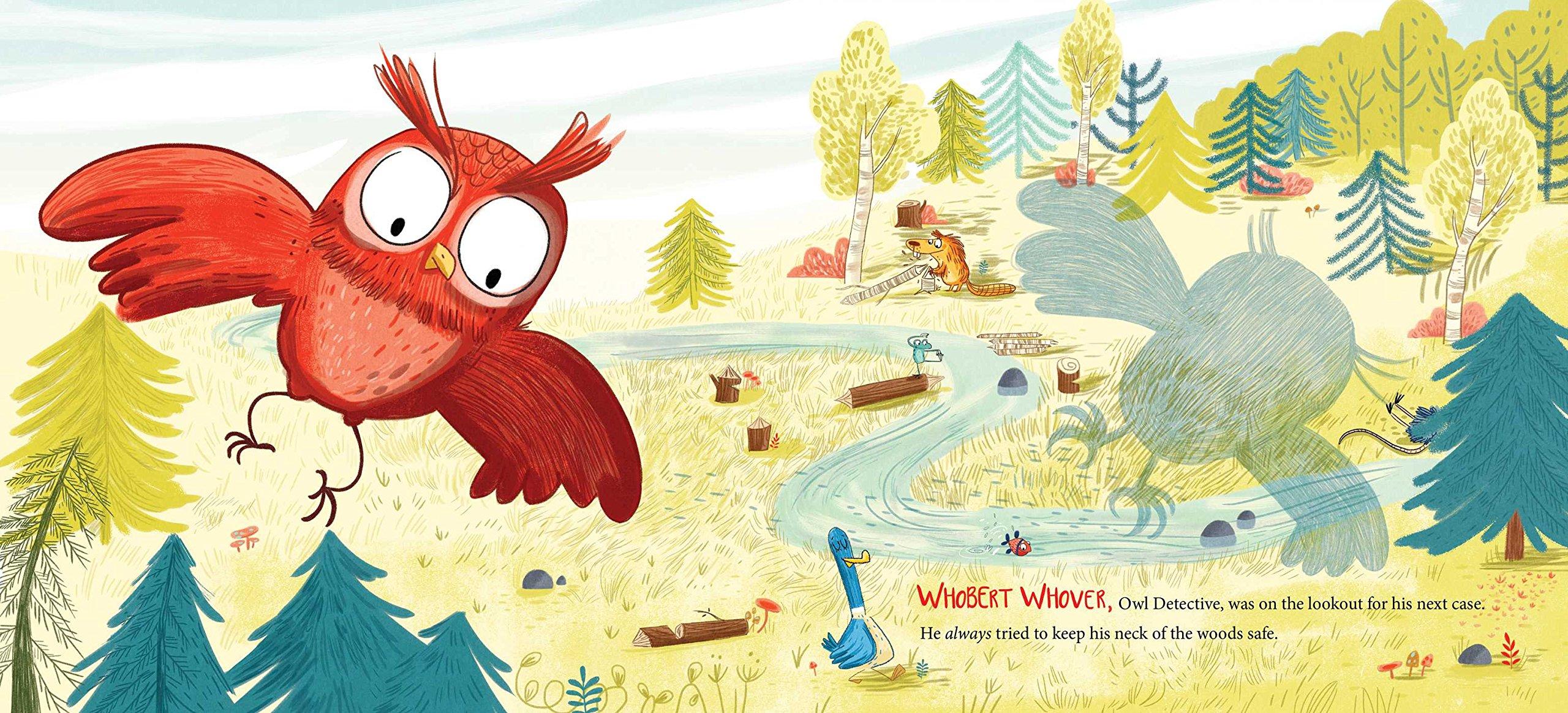 Whobert Whover, Owl Detective: Jason Gallaher, Jess Pauwels: 9781481462716:  Amazon: Books