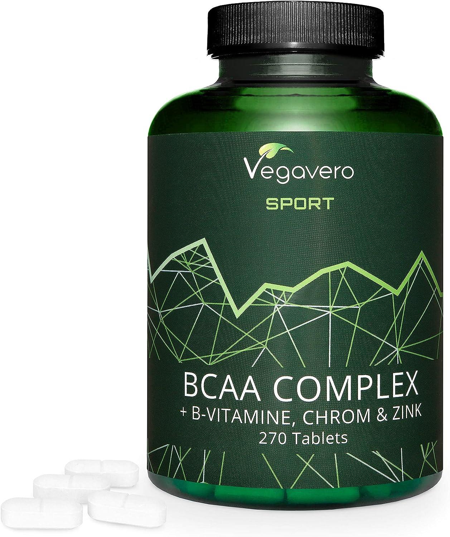 Aminoácidos BCAA Vegavero SPORT® 5000 mg | EL ÚNICO SIN ADITIVOS ...