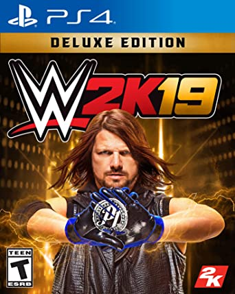 amazon wwe 2k19 deluxe edition 輸入版 北米 ps4 ゲームソフト