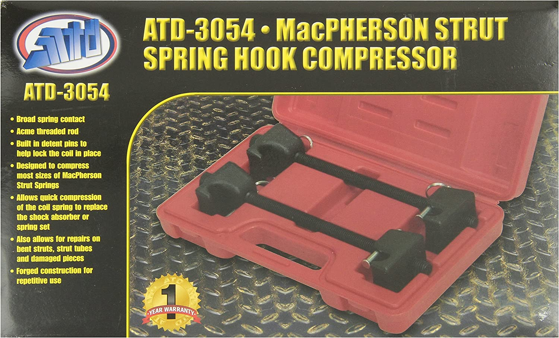 Advanced Tool Design Model ATD-3054 Mac Pherson Strut Spring Hook Compressor