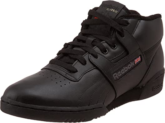 reebok mid top sneakers - 53% OFF