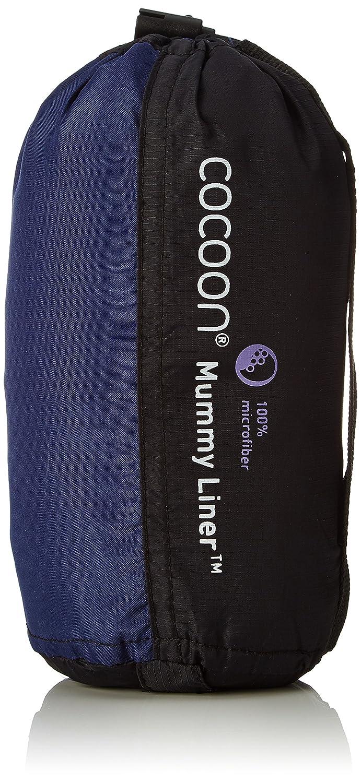 Cocoon MummyLiner - Saco sábana - Microfiber azul 2016: Amazon.es: Deportes y aire libre