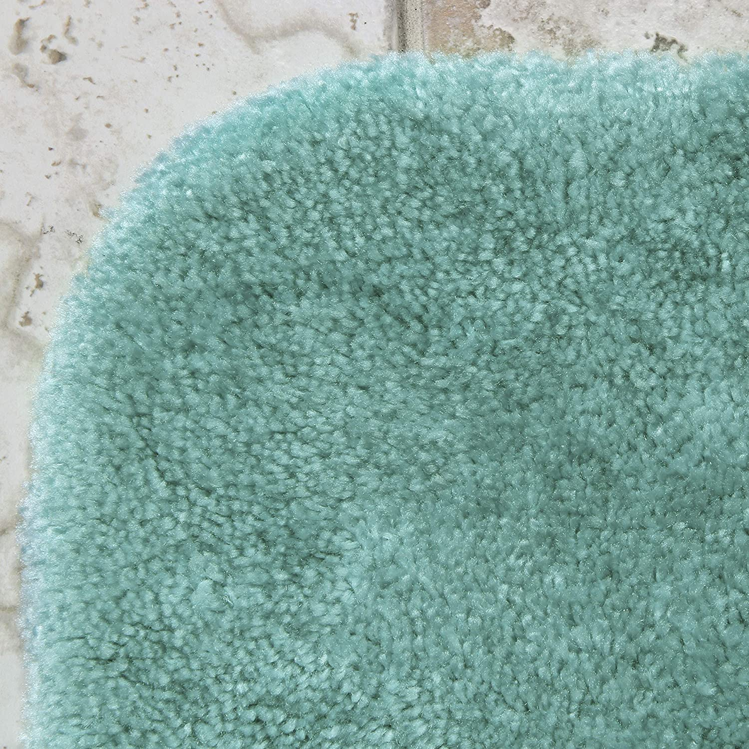 Colorsoft 17 x 24 Non Slip Washable Bath Mat Made in USA} Soft /& Quick Dry for Vanity and Shower Chocolate Nib Maples Rugs Bathroom Rugs