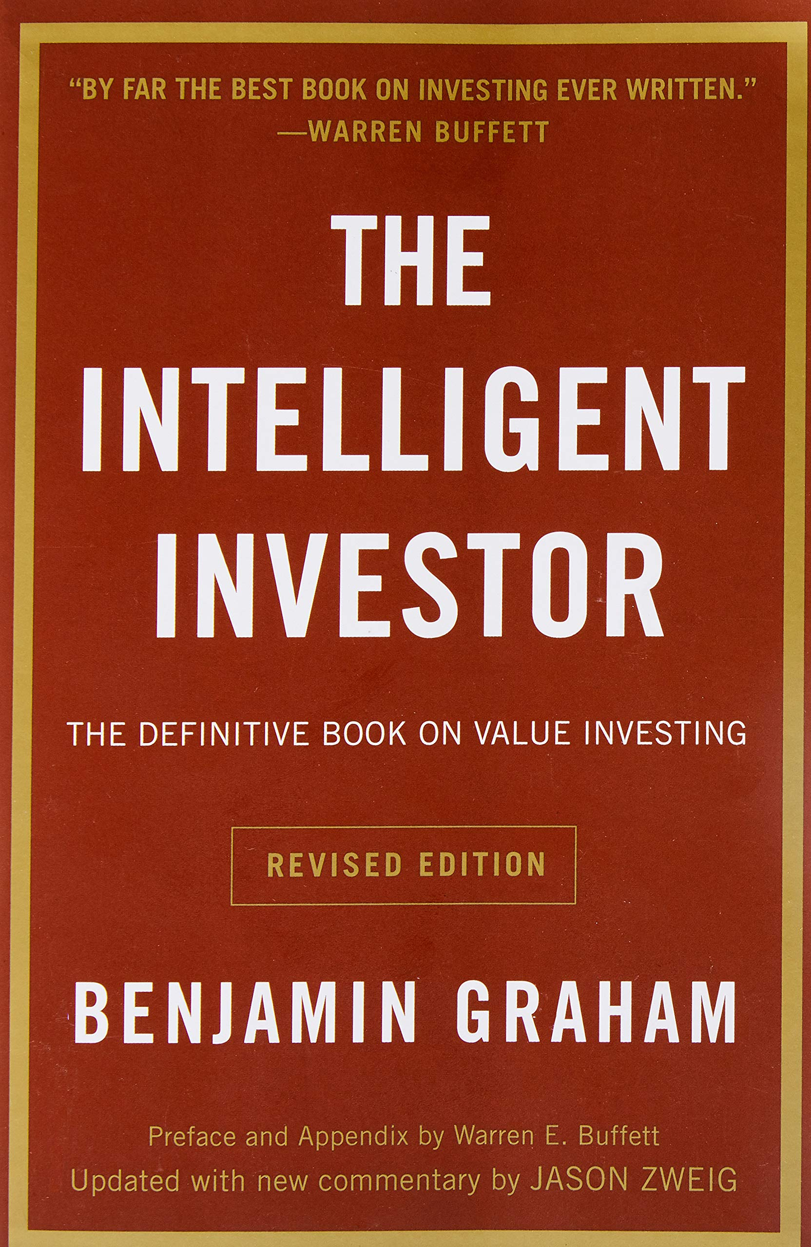 Image for The Intelligent Investor: The Definitive Book on Value Investing. A Book of Practical Counsel (Revised Edition)