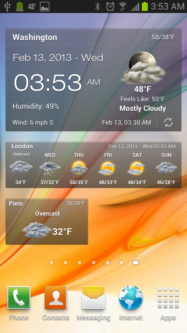 weather and clock widget for android pro apk