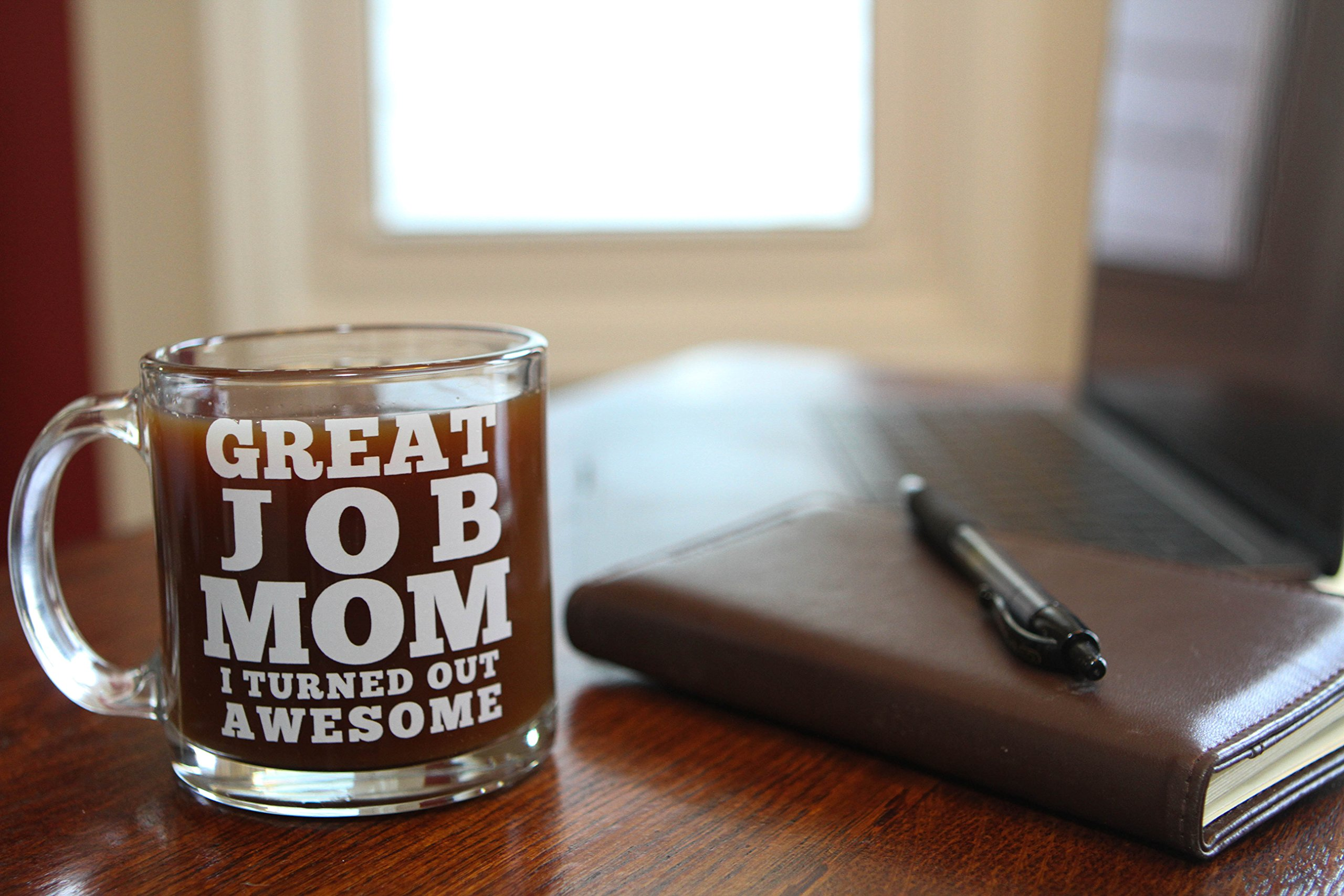 great job mom funny coffee mug best gift idea for mother s day or