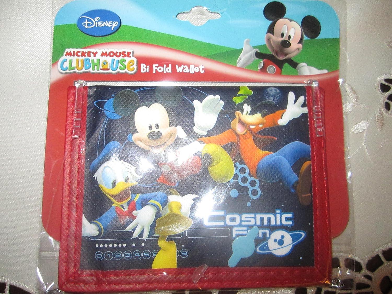 Disney Mickey Mouse Clubh House Bi Fold Wallet by Disney: Amazon.es: Juguetes y juegos