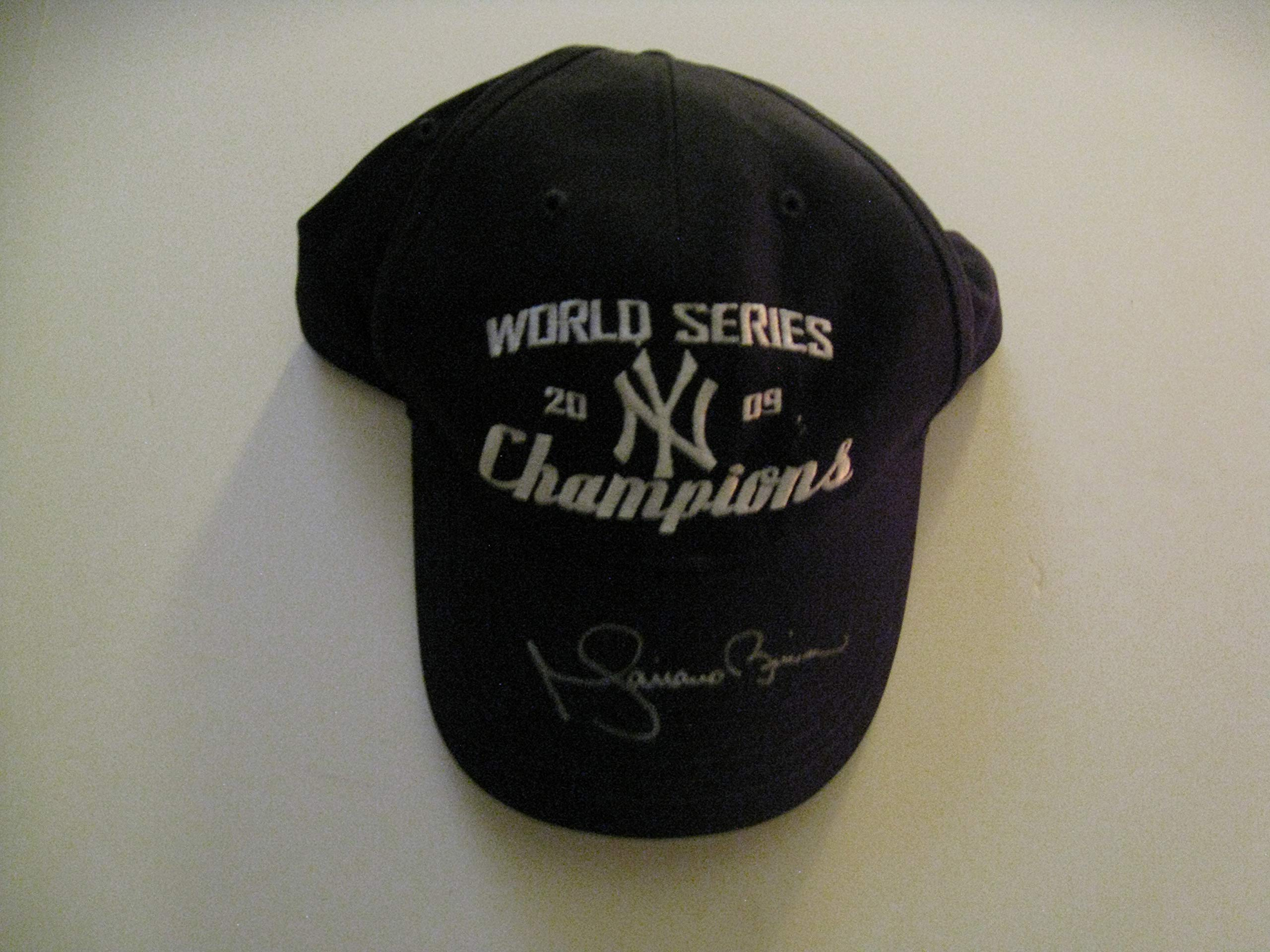 Mariano Rivera Autographeed/Signed NY Yankees 2009 World Series Champion Hat COA