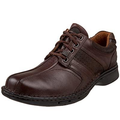 Clarks Men's Un.Coil, Brown, 8 EE - Wide | Oxfords