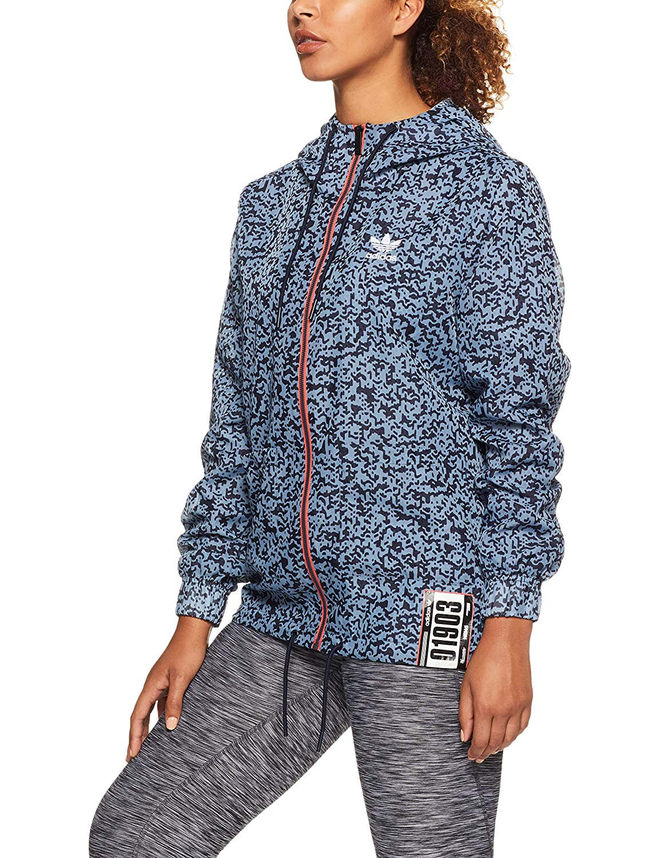 MultiCouleure Taille 40 adidas Active Icons Windbreaker Veste Femme