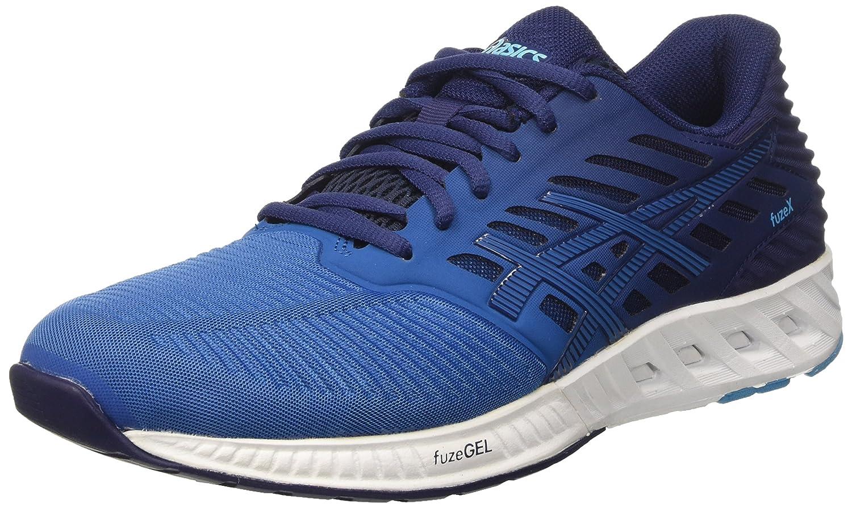 Asics Fuzex, Zapatillas de Deporte Para Hombre 47 EU|Azul (Indigo Blue/Indigo Blue/Thunder Blue)