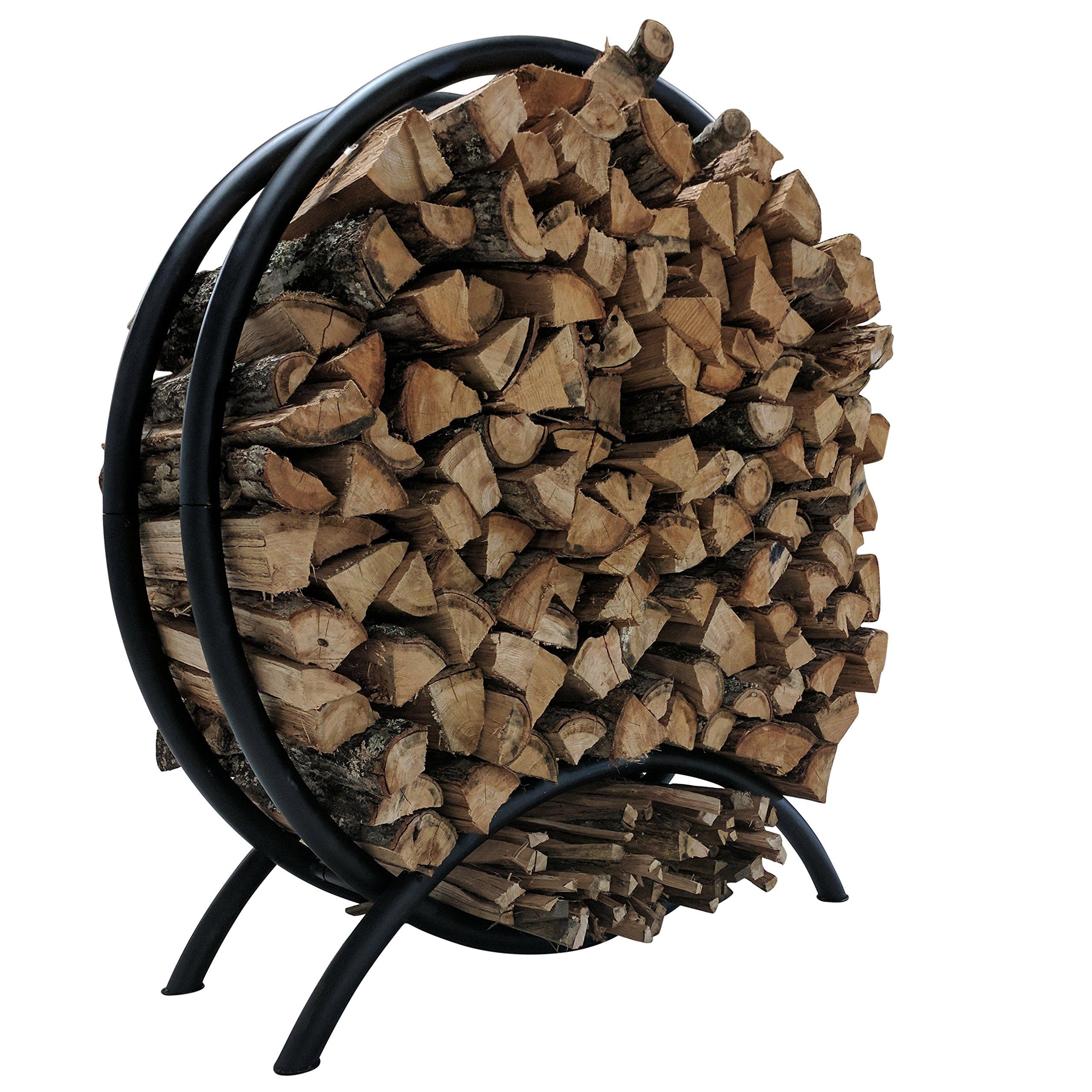 Titan Heavy Duty Firewood Log Rack (54'' Circular)