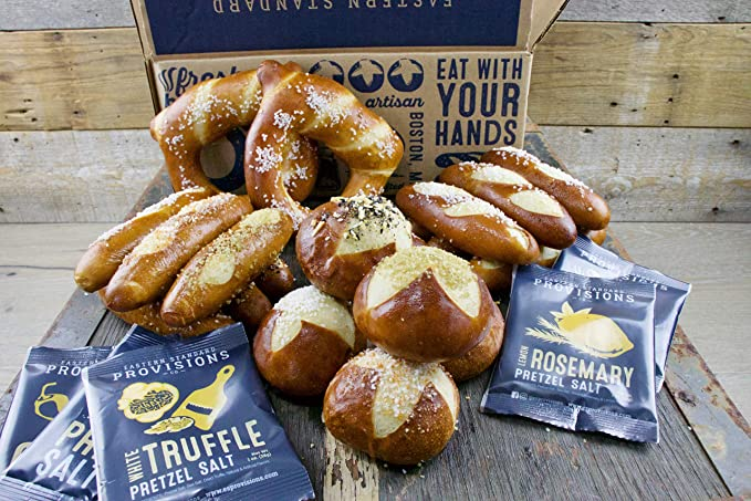 Eastern Standard Provisions Gourmet Soft Pretzel Gift Box: Amazon ...