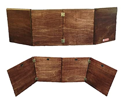 Amazon com: Polished Wood DM Screen for Table Top Games: Toys & Games
