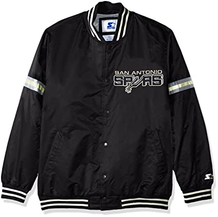 Amazon.com   STARTER NBA Men s Legecy Retro Satin Jacket   Sports ... 51499551e