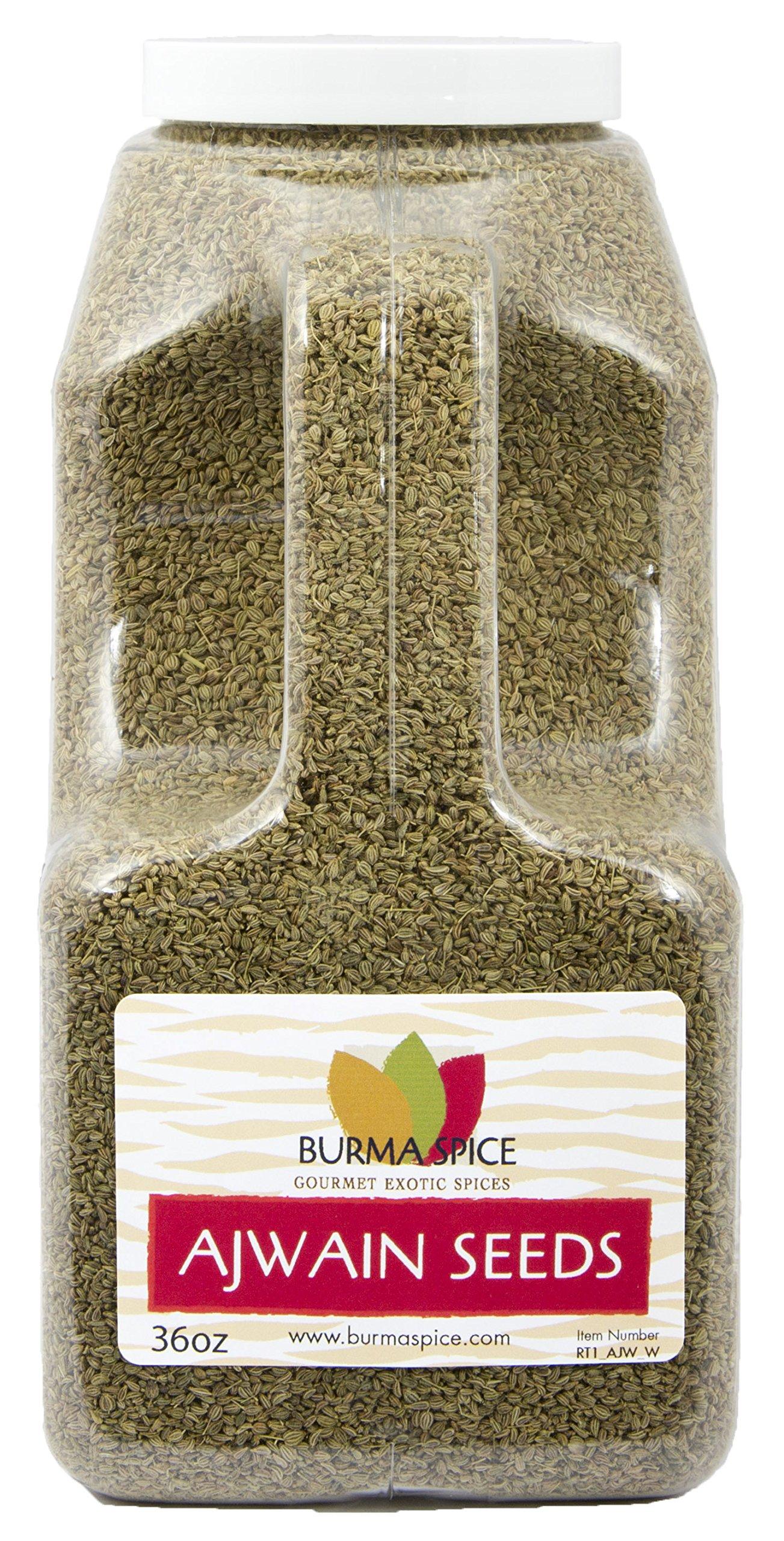 Ajwain Seeds : Whole Indian Spice Kosher (36oz.)