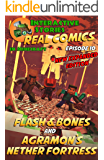 Amazing Minecraft Comics: Flash and Bones and Agramon's Nether Fortress: The Greatest Minecraft Comics for Kids (Real Comics in Minecraft - Flash and Bones Book 10)