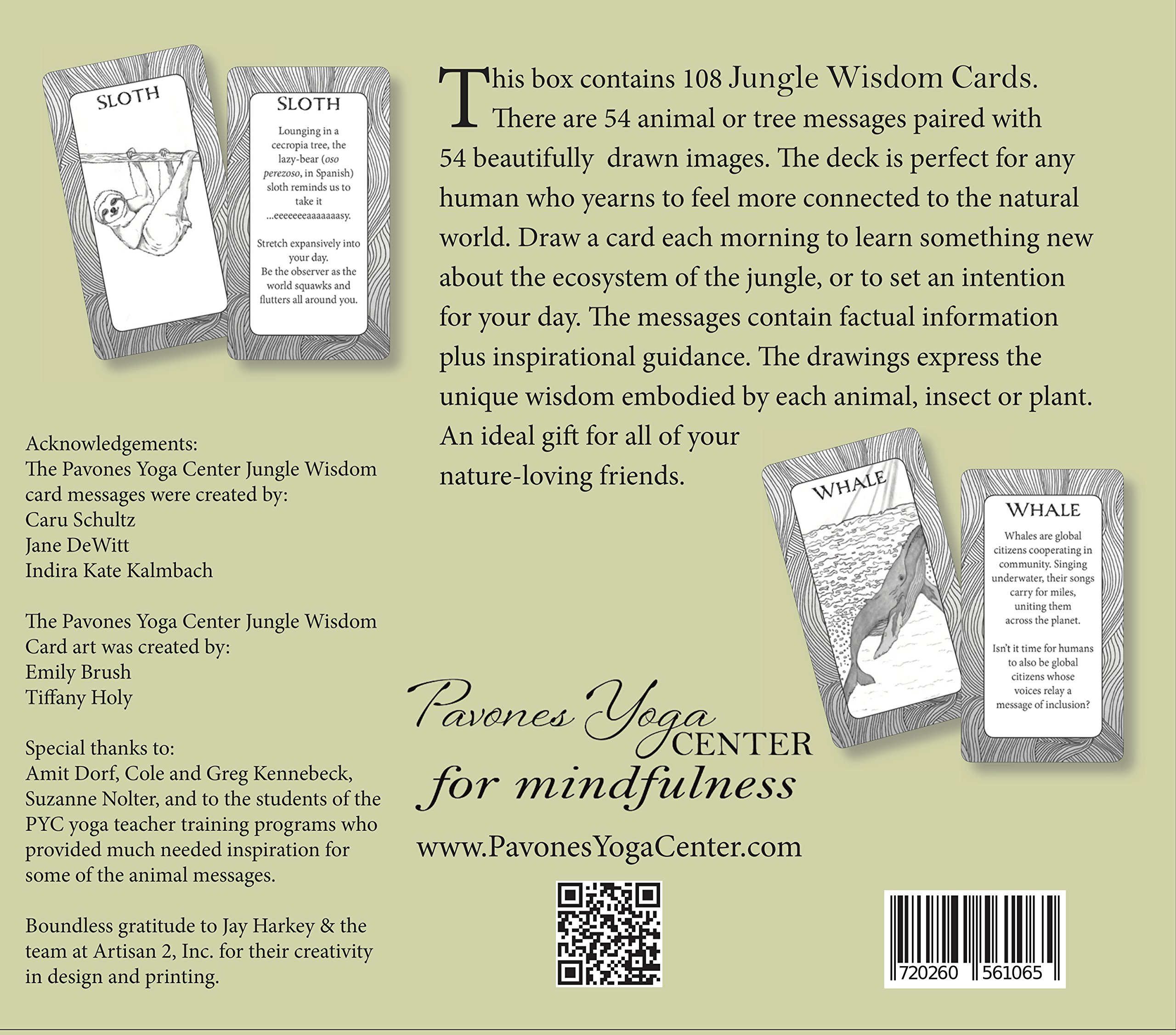 Amazon.com: Jungle Wisdom Cards: Messages from Nature ...