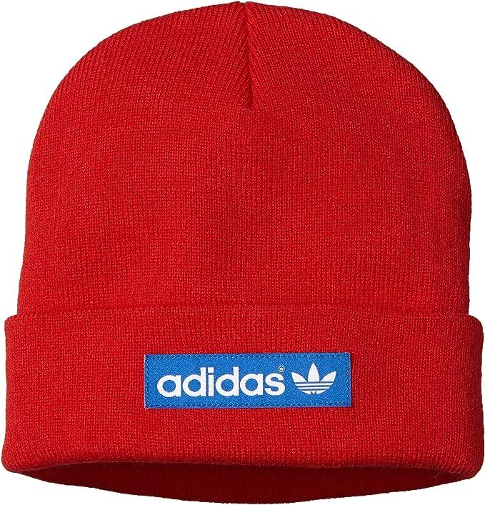 adidas Mütze Woven Logo - Gorro de Running para Hombre, Color Rojo ...