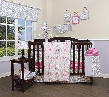 Amazon Com Geenny 13 Piece Boutique Baby Nursery Crib Bedding Set