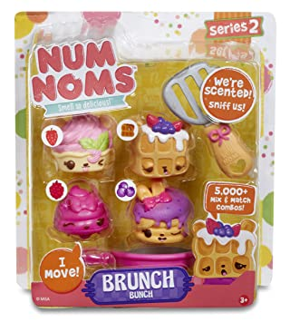Num Noms Starter Pack With Sushi Box/Pizza Party/Freezie Pops And Brunch  Bunch
