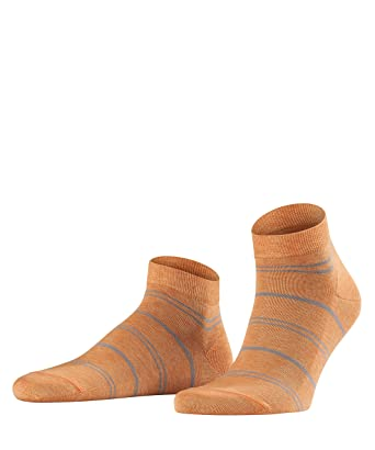 Mens Stripe Wash Ankle Socks Falke