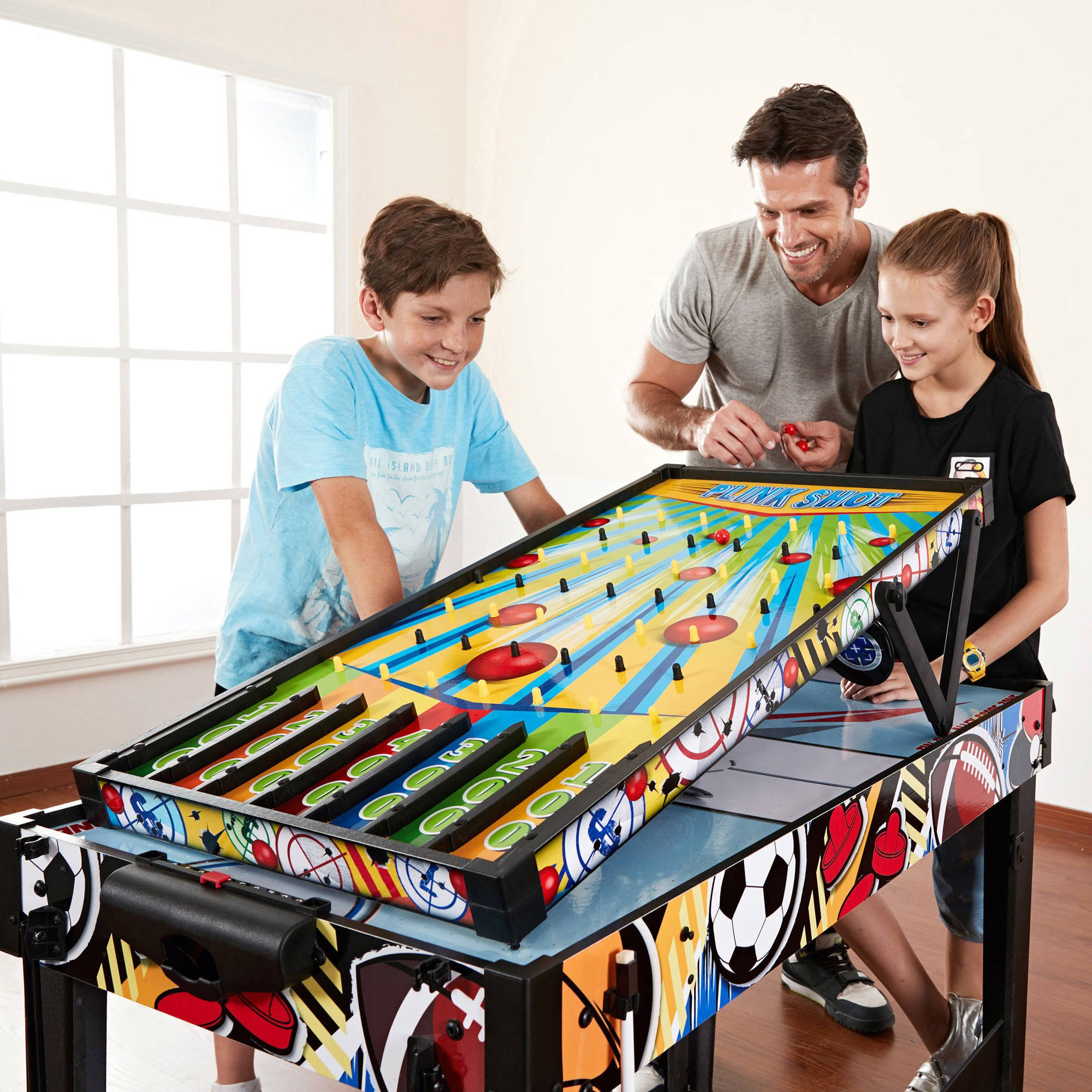MD Sports 48 inch 12 in 1 Easily Convert Combo Multi-Game Table by Medal Sports (Image #8)